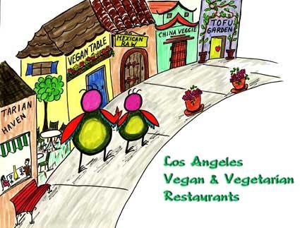 6bbe51b3028926 Vegetarians in Paradise Vegan Vegetarian Los Angeles Restaurants ...